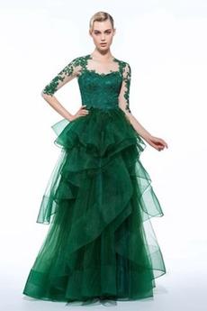 Ψευδαίσθηση Γραμμή Α Κεντήματα Χάνει Μήκος πατωμάτων Βραδινά φορέματα