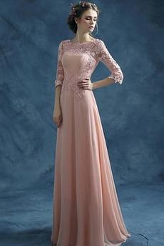Πολυτελές Φερμουάρ επάνω Κλεψύδρα Κοντομάνικο Βραδινά φορέματα
