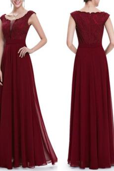 Άνοιξη Κοντομάνικο Ανάποδο Τρίγωνο Δαντέλα Βραδινά φορέματα