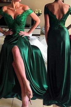 Έτος 2020 Προσαρμοσμένες μανίκια Τραίνο σκουπισμάτων Μπάλα φορέματα