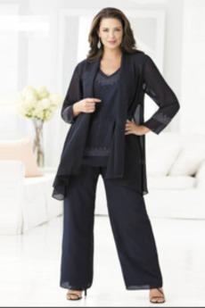 Υψηλή καλύπτονται Μέχρι τον αστράγαλο Φυσικό Παντελόνι κοστούμι φόρεμα