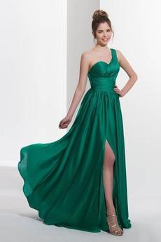 Φυσικό απλός Αμάνικο Φθινόπωρο Οι πτυχωμένες μπούστο Μπάλα φορέματα