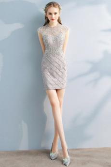 Κόσμημα Φυσικό Χάντρες Λάμψη Μικροκαμωμένη Κοκτέιλ φορέματα