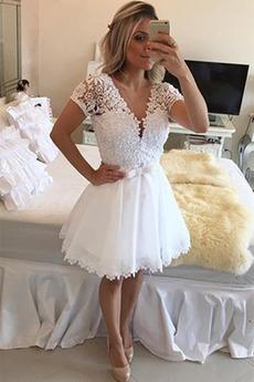 Ψευδαίσθηση Μικρό Καθαρή πλάτη Καλοκαίρι Κοκτέιλ φορέματα