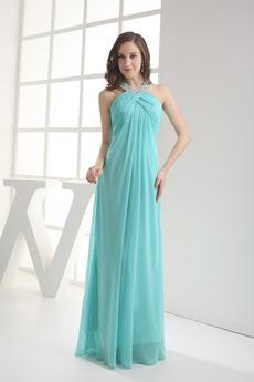 Αμάνικο Πλισέ Μέτρια Αυτοκρατορία Μήκος πατωμάτων Βραδινά φορέματα e9fa99b90da