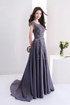 Δαντέλα-επάνω Φυσικό Χειμώνας Κεντήματα Κόσμημα Μπάλα φορέματα