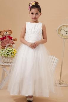 Χάνει Τόξο Μέχρι τον αστράγαλο Πριγκίπισσα Λουλούδι κορίτσι φορέματα