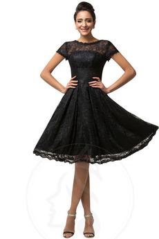 Κόσμημα Φυσικό Διακοσμητικά Επιράμματα Κοντομάνικο Κοκτέιλ φορέματα