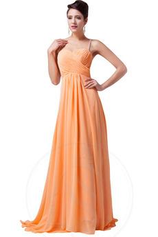 απλός Γραμμή Α Χάνει Οι πτυχωμένες μπούστο Βραδινά φορέματα