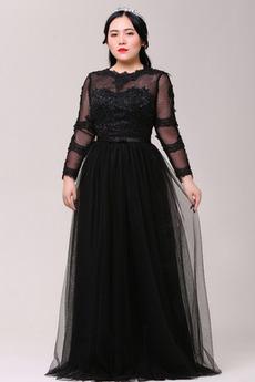 Επίσημη Φυσικό Τα μέσα πλάτη Άνοιξη Κοντομάνικο Μπάλα φορέματα