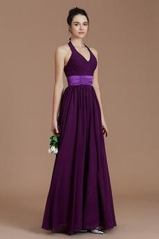 Τόξο Καλοκαίρι Αμάνικο Αχλάδι Φυσικό εξώπλατο Παράνυμφος φορέματα
