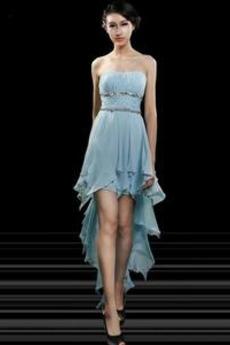 Φυσικό Σιφόν Αχλάδι Άνοιξη Ασύμμετρη Ασύμμετρη Κοκτέιλ φορέματα