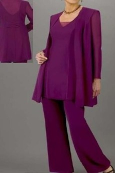 Σιφόν Κοντομάνικο Άνοιξη Υψηλή καλύπτονται Παντελόνι κοστούμι φόρεμα