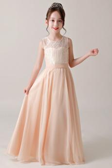 Δαντέλα επικάλυψης Φυσικό Κόσμημα Δαντέλα Λουλούδι κορίτσι φορέματα