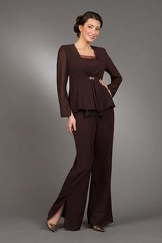 Χειμώνας Μέχρι τον αστράγαλο Μεγάλα Μεγέθη Παντελόνι κοστούμι φόρεμα