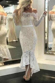Βραδινά φορέματα Κομψό & Πολυτελές Τούλι Άνοιξη Φερμουάρ επάνω Ψευδαίσθηση