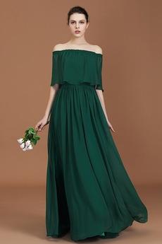 Ντραπέ Φερμουάρ επάνω Φθινόπωρο Γραμμή Α Παράνυμφος φορέματα