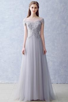 92545622acaf Πολυτελές Δαντέλα επικάλυψης Φερμουάρ επάνω Βραδινά φορέματα
