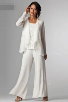 Μακρύ Μανίκι Τετράγωνο Κοντομάνικο Άνοιξη Παντελόνι κοστούμι φόρεμα