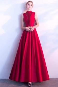 Τα μέσα πλάτη Επίσημη Χαμηλών τόνων Μέχρι τον αστράγαλο Μπάλα φορέματα