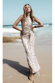Φυσικό Έναστρο Υψηλή καλύπτονται σικ Φθινόπωρο Πούλιες φόρεμα