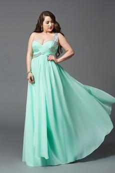 Γραμμή Α Ένας Ώμος Πολυτελές Σιφόν Έτος 2020 Βραδινά φορέματα
