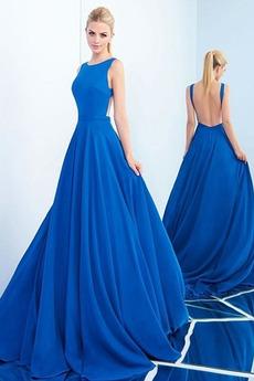 Αμάνικο Φυσικό Κόσμημα Πολυτελές Γραμμή Α Μπάλα φορέματα