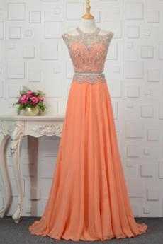 Κόσμημα Φυσικό Κόσμημα τονισμένο μπούστο Βραδινά φορέματα