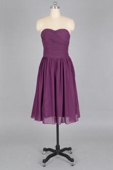 Το μήκος τσάι κούνια πιέτα άτυπος Θήκη Φυσικό Παράνυμφος φορέματα