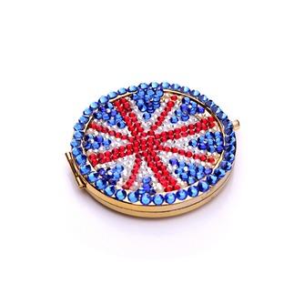 Φορητό Χονδρικό Εθνική σημαία διπλής όψης ένθετο διαμάντι Μ λέξη Μικρό Καθρέφτης & Χτένα - Σελίδα 2