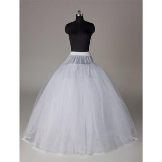 Κομψό Διπλό νήμα Ισχυρή καθαρή Νυφικό φόρεμα Μεσοφόρι γάμου - Σελίδα 1