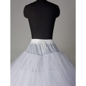 Κομψό Διπλό νήμα Ισχυρή καθαρή Νυφικό φόρεμα Μεσοφόρι γάμου - Σελίδα 3