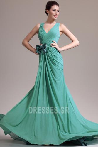 Φυσικό Γραμμή Α δραματική Λαιμόκοψη V Χάνει Βραδινά φορέματα - Σελίδα 3