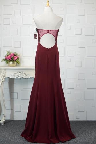 Φυσικό Ρομαντικό Θήκη Χάντρες Μακρύ εξώπλατο Βραδινά φορέματα - Σελίδα 8