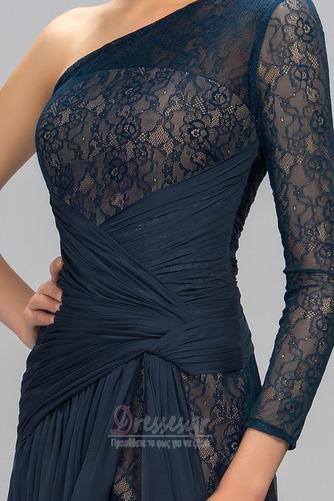 Ασύμμετρα μανίκια Δαντέλα Τα μέσα πλάτη Μακρύ Βραδινά φορέματα - Σελίδα 5