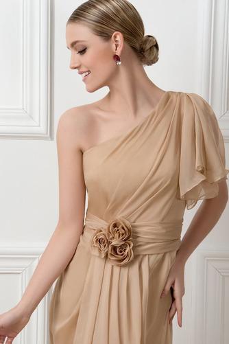 Ένας Ώμος Φυσικό Ασύμμετρα μανίκια Πολυτελές Βραδινά φορέματα - Σελίδα 4