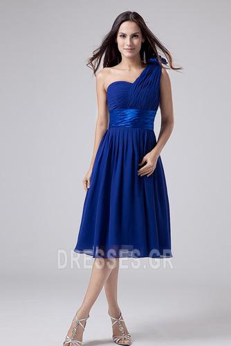 Οι πτυχωμένες μπούστο Σιφόν απλός Γραμμή Α Παράνυμφος φορέματα - Σελίδα 1