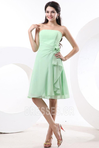 Τονισμένα ροζέτα Γραμμή Α Φυσικό Αμάνικο Παράνυμφος φορέματα - Σελίδα 3