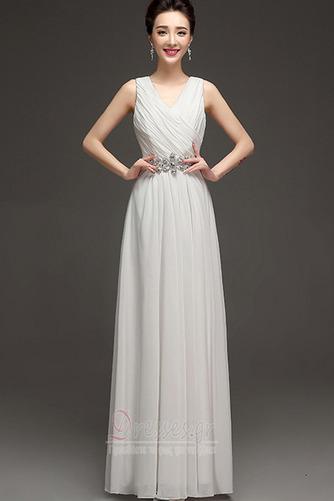 ... Διακοσμημένες με χάντρες ζώνη Ντραπέ Λαιμόκοψη V Βραδινά φορέματα -  Σελίδα 4 ... 9be3d59ab6e