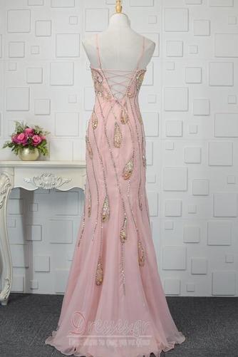 Φυσικό Κρυστάλλινη Μέχρι τον αστράγαλο Κόσμημα τονισμένο μπούστο Βραδινά φορέματα - Σελίδα 3