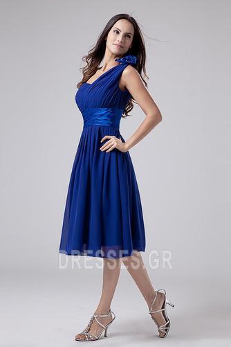 Οι πτυχωμένες μπούστο Σιφόν απλός Γραμμή Α Παράνυμφος φορέματα - Σελίδα 2