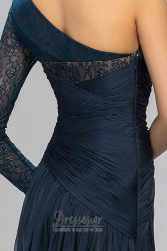 Ασύμμετρα μανίκια Δαντέλα Τα μέσα πλάτη Μακρύ Βραδινά φορέματα - Σελίδα 4