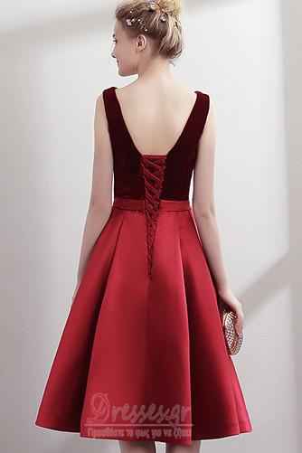 Φυσικό Βαθιά v-λαιμός Λαιμόκοψη V Χάνει Φθινόπωρο Μπάλα φορέματα - Σελίδα 2