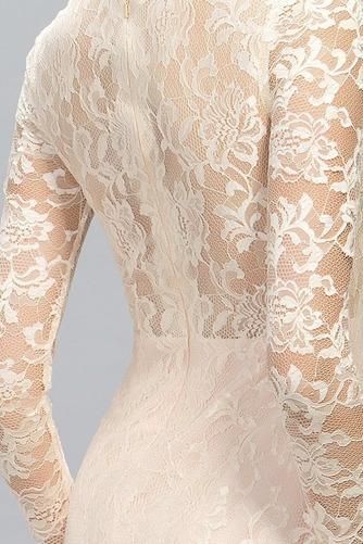 Ντραπέ Φθινόπωρο Δαντέλα Φυσικό Ψευδαίσθηση Βραδινά φορέματα - Σελίδα 5