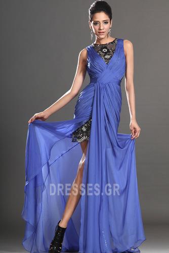 Θήκη υψηλή Χαμηλή Μπροστινό Σκίσιμο σικ Καλοκαίρι Μπάλα φορέματα - Σελίδα 1