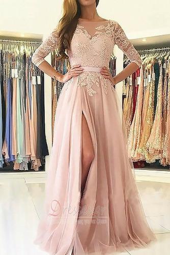 Διακοσμητικά Επιράμματα Γραμμή Α Μηρό-υψηλές σχισμή Βραδινά φορέματα - Σελίδα 1