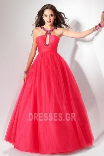 Οι πτυχωμένες μπούστο Κλειδαρότρυπα ντεκολτέ Μπάλα φορέματα - Σελίδα 1