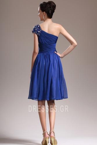 Φυσικό Τα μέσα πλάτη Γραμμή Α απλός Ένας Ώμος Παράνυμφος φορέματα - Σελίδα 6