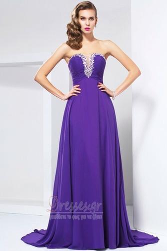 Αμάνικο Κόσμημα τονισμένο μπούστο σύγχρονος Βραδινά φορέματα - Σελίδα 1