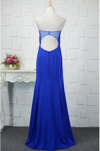 Φυσικό Ρομαντικό Θήκη Χάντρες Μακρύ εξώπλατο Βραδινά φορέματα - Σελίδα 4